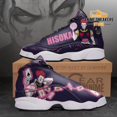 Hisoka Sneakers Hunter X Custom Anime Shoes Men / Us6 Jd13