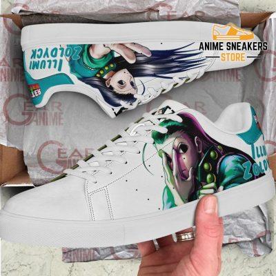 Illumi Zoldyck Skate Shoes Hunter X Anime Pn11