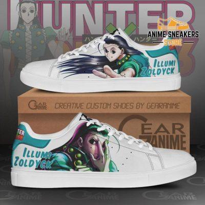 Illumi Zoldyck Skate Shoes Hunter X Anime Pn11 Men / Us6