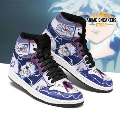Killua Hunter X Sneakers Godspeed Hxh Anime Shoes Jd