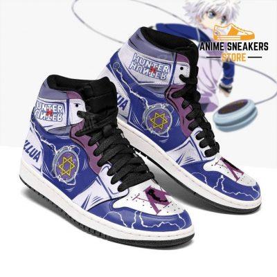 Killua Shoes Hunter X Sneakers Yoyo Hxh Anime Jd