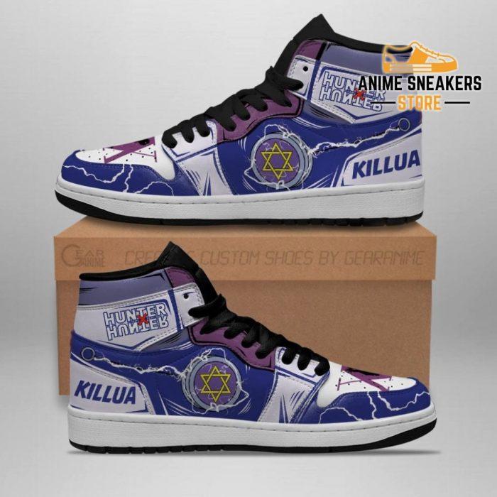 Killua Shoes Hunter X Sneakers Yoyo Hxh Anime Men / Us6.5 Jd