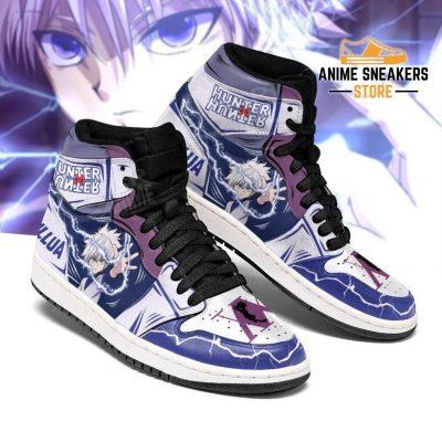 Killua Hunter X Sneakers Lightning Hxh Anime Shoes Jd
