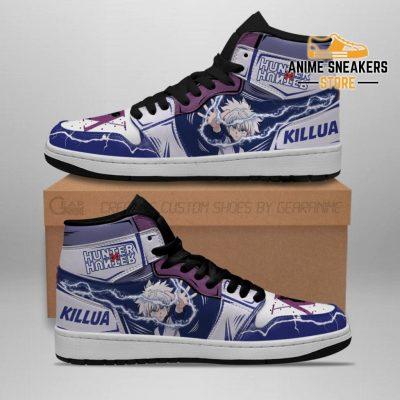 Killua Hunter X Sneakers Lightning Hxh Anime Shoes Men / Us6.5 Jd