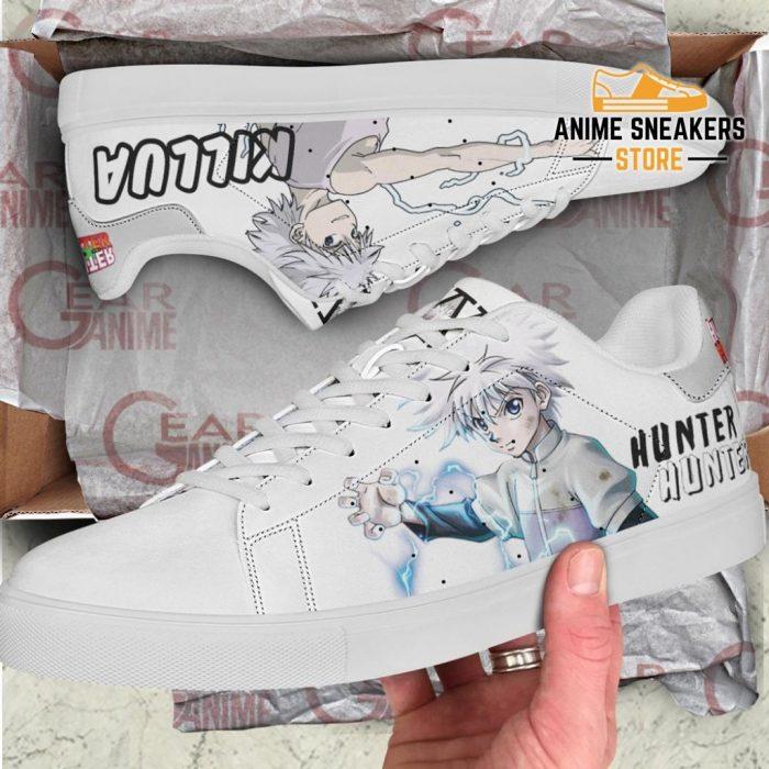 Killua Skate Shoes Hunter X Anime Pn11