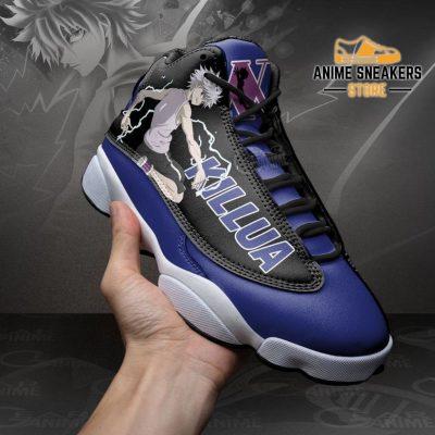 Killua Zoldyck Sneakers Hunter X Custom Anime Shoes Jd13