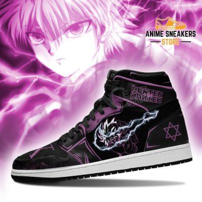 Killua Zoldyck Hunter X Sneakers Power Hxh Anime Shoes Jd