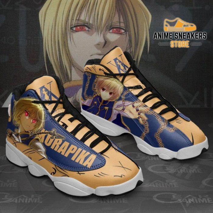 Kurapika Sneakers Hunter X Custom Anime Shoes Jd13