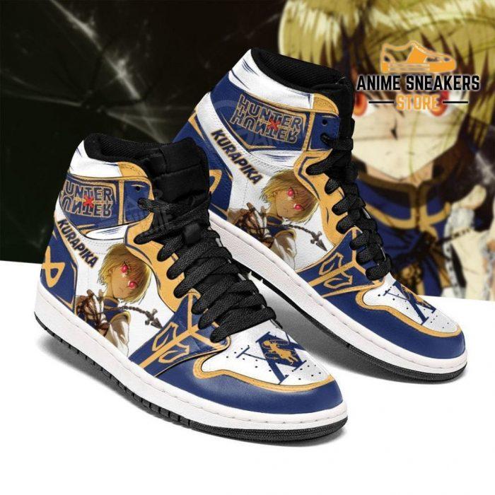 Hunter X Kurapika Sneakers Red Eyes Hxh Anime Shoes Jd