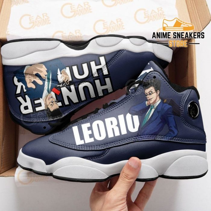 Leorio Jd13 Sneakers Hunter X Custom Anime Shoes