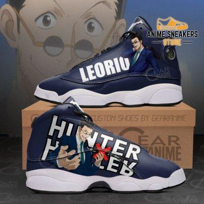 Leorio Jd13 Sneakers Hunter X Custom Anime Shoes Men / Us6