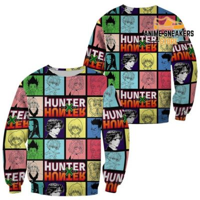 Hunter X Shirt Sweater Hxh Anime Hoodie Jacket / S All Over Printed Shirts