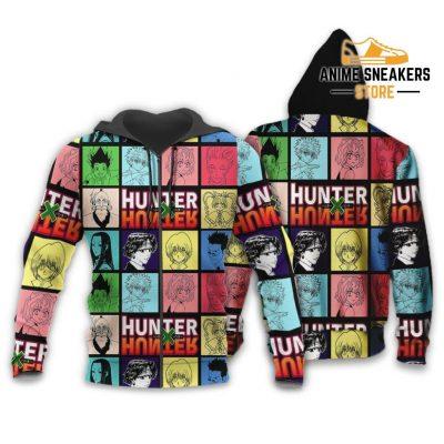 Hunter X Shirt Sweater Hxh Anime Hoodie Jacket Zip / S All Over Printed Shirts