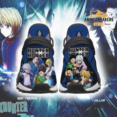 Hunter X Shoes Characters Custom Hxh Anime Sneakers Men / Us6 Nmd