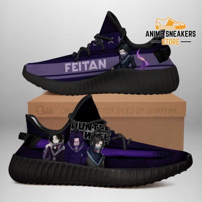 Feitan Yeezy Shoes Custom Hunter X Anime Sneakers Fan Gift Tt04 Men / Us6