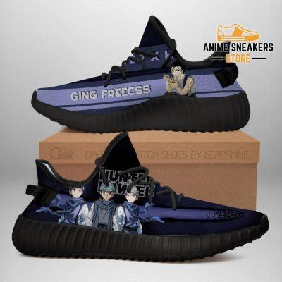 Ging Yeezy Shoes Custom Hunter X Anime Sneakers Fan Gift Tt04 Men / Us6