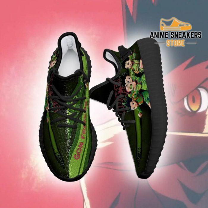 Gon Yeezy Shoes Custom Hunter X Anime Sneakers Fan Gift Tt04