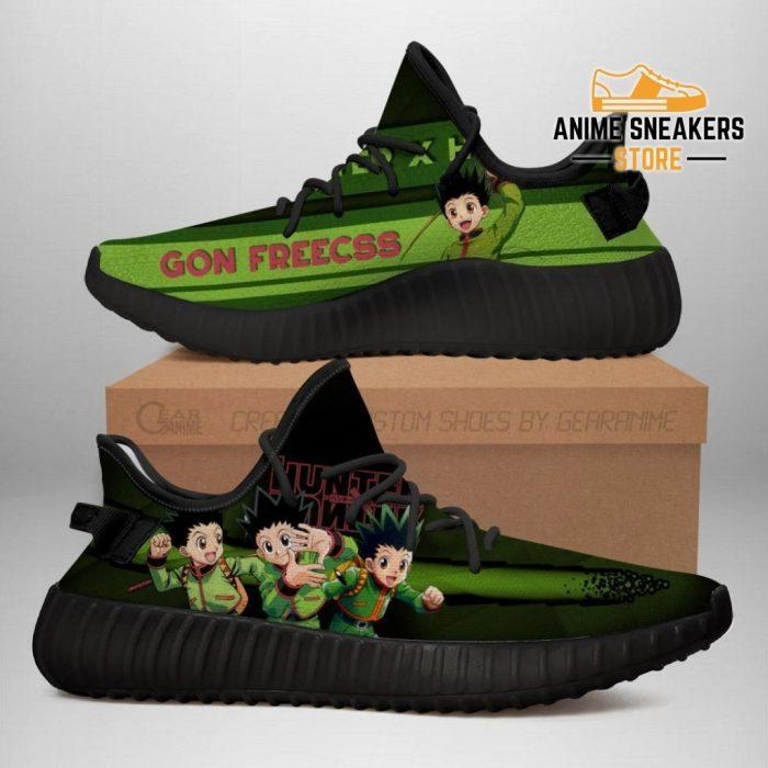 Gon Yeezy Shoes Custom Hunter X Anime Sneakers Fan Gift Tt04 Men / Us6