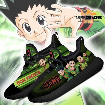 Hunter X Gon Freecss Reze Shoes Custom Hxh Anime Sneakers
