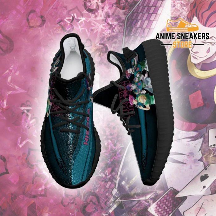 Hisoka Yeezy Shoes Custom Hunter X Anime Sneakers Fan Gift Tt04