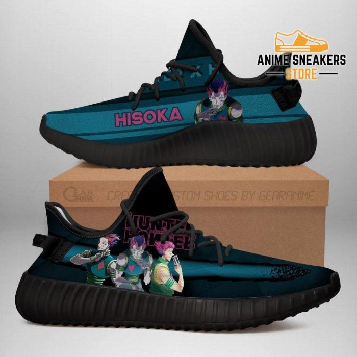 Hisoka Yeezy Shoes Custom Hunter X Anime Sneakers Fan Gift Tt04 Men / Us6