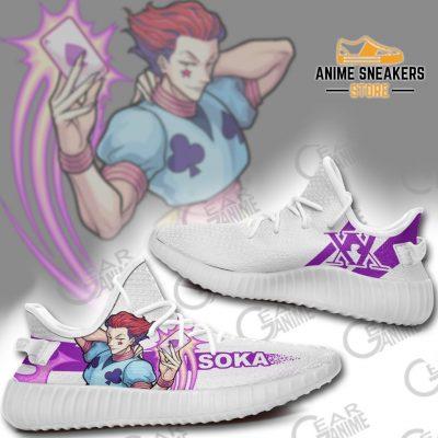 Hisoka Morow Shoes Hunter X Anime Sneakers Tt10 Yeezy