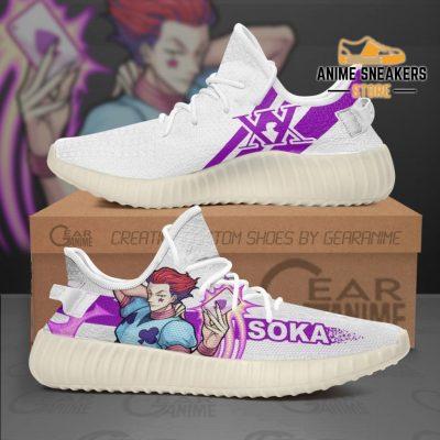 Hisoka Morow Shoes Hunter X Anime Sneakers Tt10 Men / Us6 Yeezy