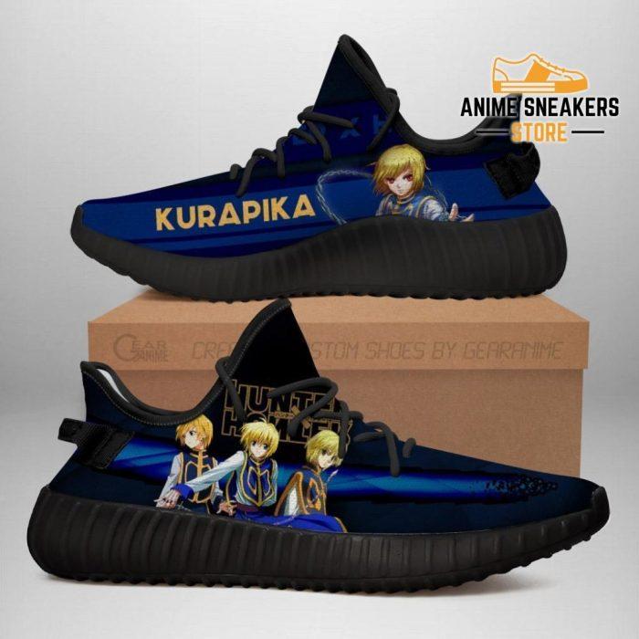 Kurapika Yeezy Shoes Custom Hunter X Anime Sneakers Fan Gift Tt04 Men / Us6