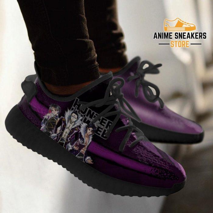 Kuroro Lucifer Yeezy Shoes Custom Hunter X Anime Sneakers Fan Gift Tt04