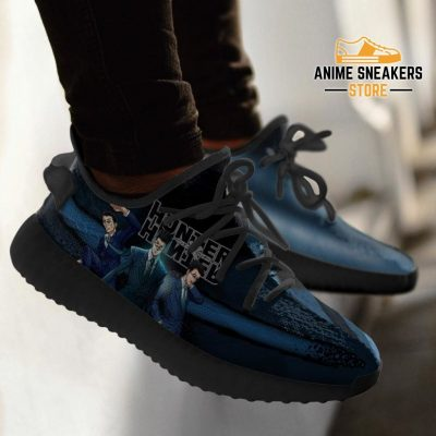Leorio Yeezy Shoes Custom Hunter X Anime Sneakers Fan Gift Tt04