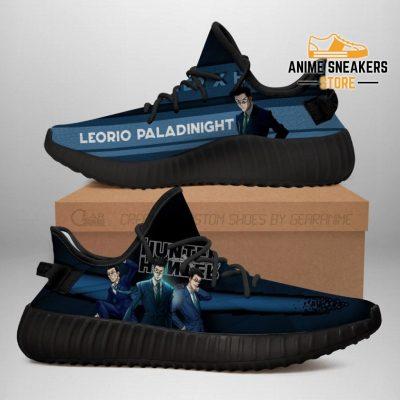 Leorio Yeezy Shoes Custom Hunter X Anime Sneakers Fan Gift Tt04 Men / Us6