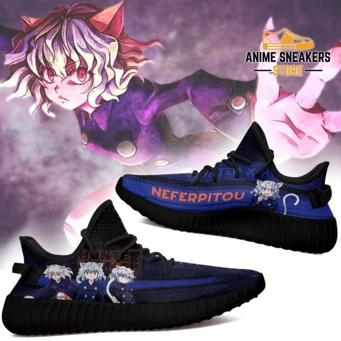 Neferpitou Yeezy Shoes Custom Hunter X Anime Sneakers Fan Gift Tt04
