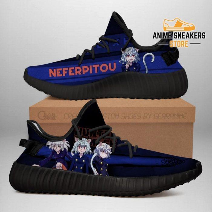 Neferpitou Yeezy Shoes Custom Hunter X Anime Sneakers Fan Gift Tt04 Men / Us6