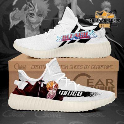 Ichigo Half Hollow Shoes Bleach Custom Anime Sneakers Men / Us6 Yeezy