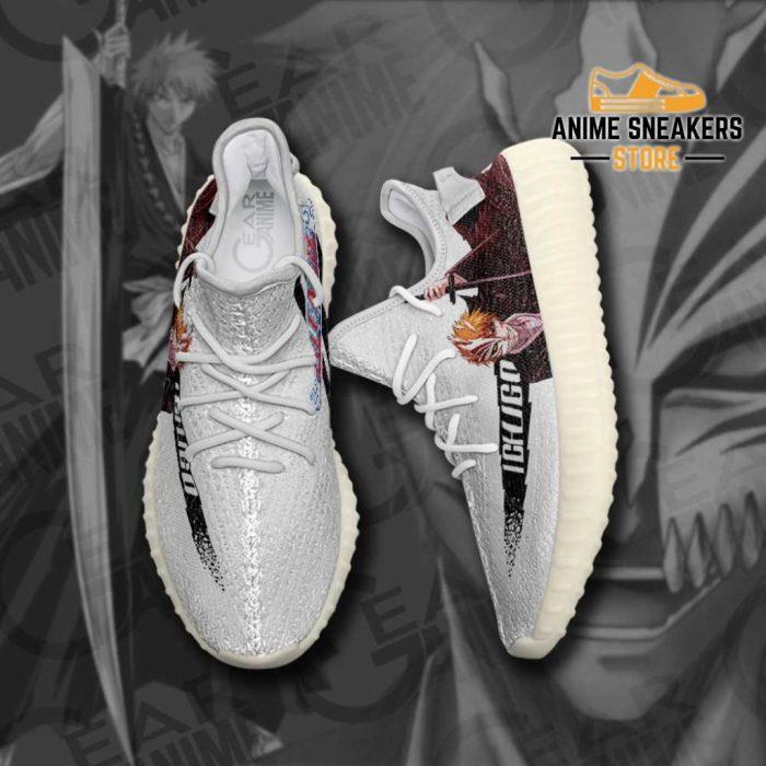 Ichigo Half Hollow Shoes Bleach Custom Anime Sneakers Yeezy