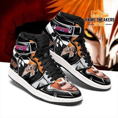 Ichigo Half Hollow Sneakers Bleach Anime Shoes Fan Gift Idea Mn05 Jd