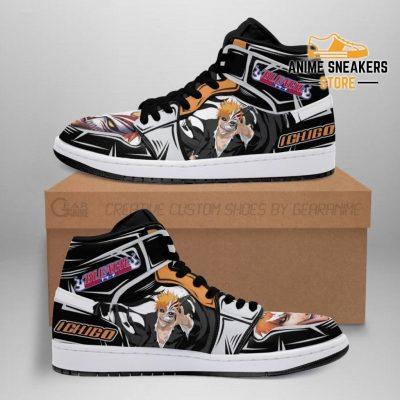 Ichigo Half Hollow Sneakers Bleach Anime Shoes Fan Gift Idea Mn05 Men / Us6.5 Jd
