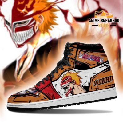 Ichigo Hollow Sneakers Bleach Anime Shoes Fan Gift Idea Mn05 Jd