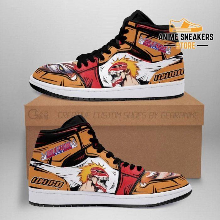 Ichigo Hollow Sneakers Bleach Anime Shoes Fan Gift Idea Mn05 Men / Us6.5 Jd