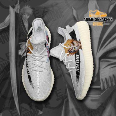 Ichigo Shoes Bleach Custom Anime Sneakers Yeezy