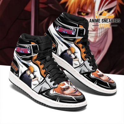 Ichigo Sneakers Bleach Anime Shoes Fan Gift Idea Mn05 Jd