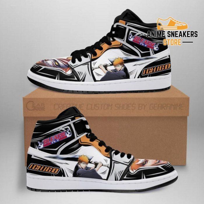 Ichigo Sneakers Bleach Anime Shoes Fan Gift Idea Mn05 Men / Us6.5 Jd