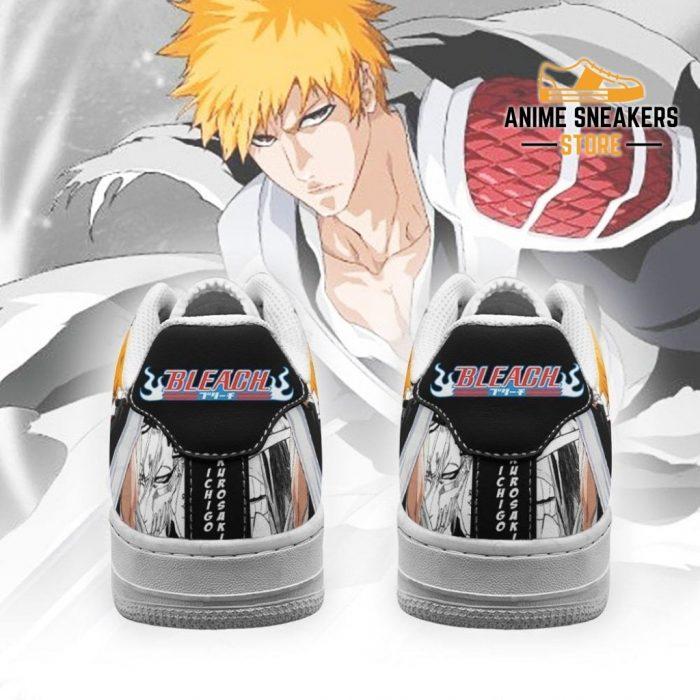Ichigo Sneakers Bleach Anime Shoes Fan Gift Idea Pt05 Air Force