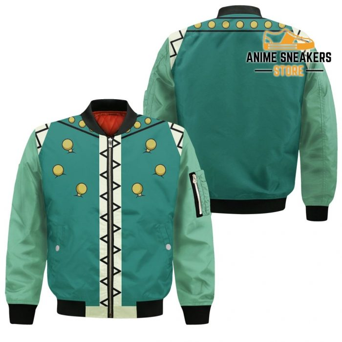 Illumi Zoldyck Hunter X Uniform Shirt Hxh Anime Hoodie Jacket Bomber / S All Over Printed Shirts