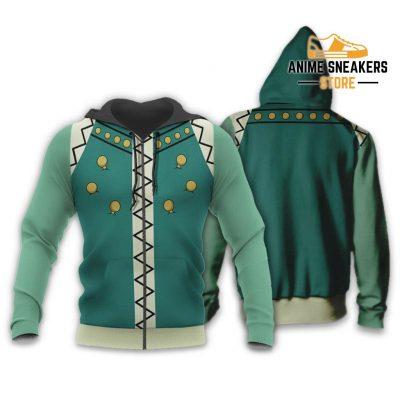 Illumi Zoldyck Hunter X Uniform Shirt Hxh Anime Hoodie Jacket Zip / S All Over Printed Shirts