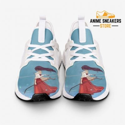 Inuyasha Kikyo Breeze Custom Nomad Shoes Mens