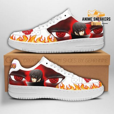 Itachi Eyes Sneakers Naruto Anime Shoes Fan Gift Pt04 Men / Us6.5 Air Force