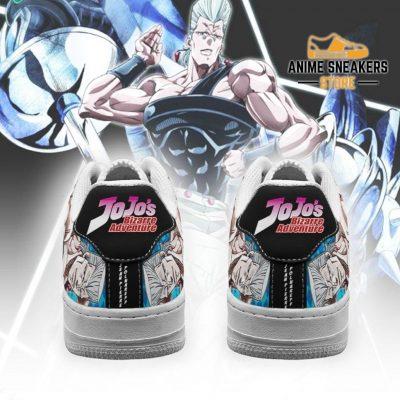 Jean Pierre Polnareff Sneakers Jojo Anime Shoes Fan Gift Idea Pt06 Air Force
