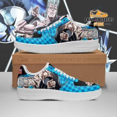 Jean Pierre Polnareff Sneakers Jojo Anime Shoes Fan Gift Idea Pt06 Men / Us6.5 Air Force