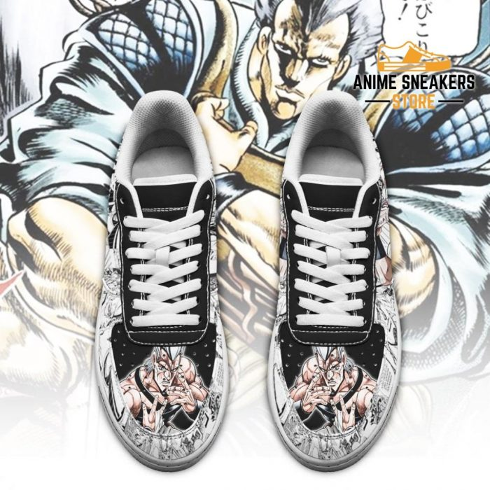 Jean Pierre Polnareff Sneakers Manga Style Jojos Anime Shoes Fan Gift Pt06 Air Force
